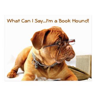 Book Hound Dog Postcard