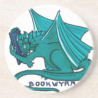 Book Hug Bookwyrm Coaster