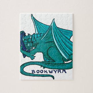 Book Hug Bookwyrm Jigsaw Puzzle