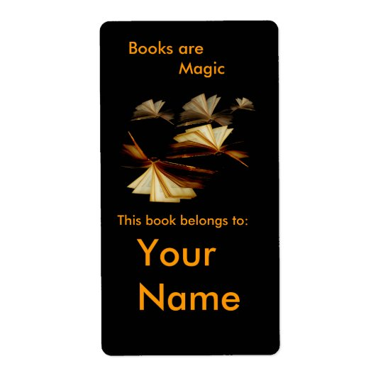 Book label or plate