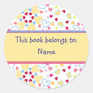 Book Label Stickers