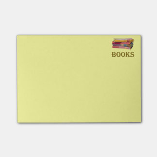 Book List Post-it Notes