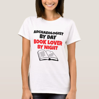 Book Lover Archaeologist T-Shirt
