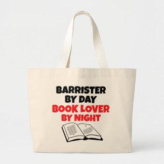Book Lover Barrister Jumbo Tote Bag