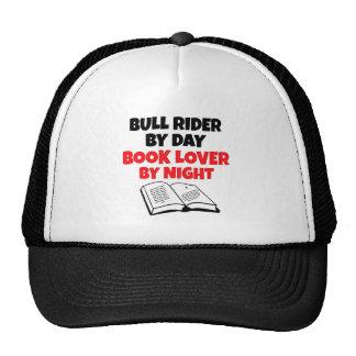 Book Lover Bull Rider Cap