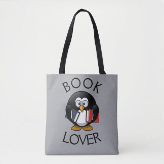 Book Lover -- Designer Tote Bag