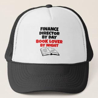 Book Lover Finance Director Cap
