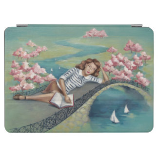 Book Lover Girl iPad Air Cover