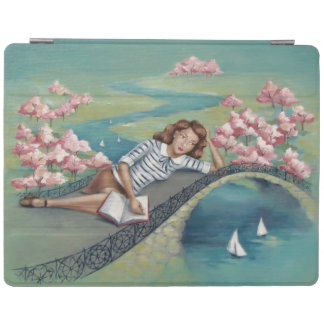 Book Lover Girl iPad Smart Cover iPad Cover