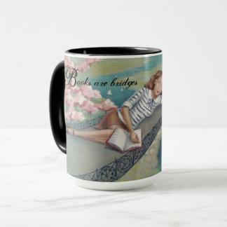 Book Lover Girl Mug
