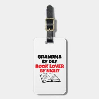 Book Lover Grandma Luggage Tag