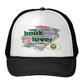 Book Lover Hats