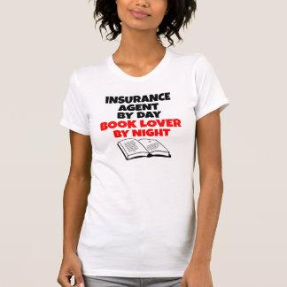 Book Lover Insurance Agent T-Shirt