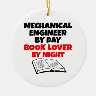 Book Lover Mechanical Engineer Ceramic Ornament