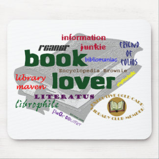 Book Lover Mousepads