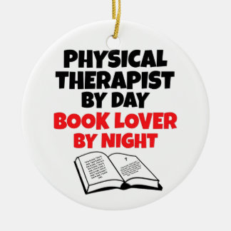 Book Lover Physical Therapist Christmas Tree Ornaments
