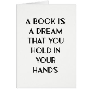 Book Lover Quote Greeting Card