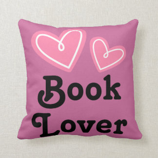 Book Lover Reading Throw Pillow