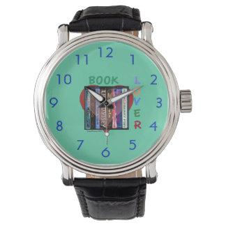 Book Lover Wristwatches