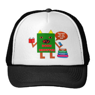 Book Monster Mesh Hats