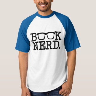 Book Nerd funny men's reader T-Shirt