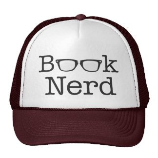 Book Nerd Funny Spectacles Text Cap