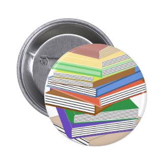 Book Nerd Pinback Buttons