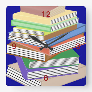 Book Nerd Wall Clocks