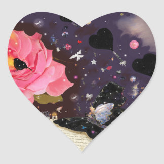 Book of Fairy Tales! Heart Sticker