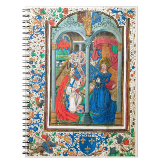 Book of Hours SR001 #1 Illuminated Manuscript Art