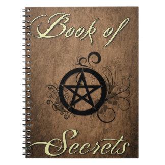Book of Secrets notebook