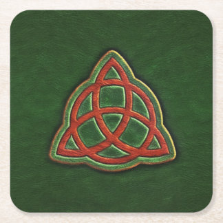 Book of Shadows Cover Paper Coaster