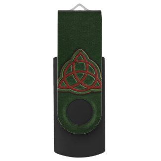 Book of Shadows Cover USB Flash Drive Swivel USB 2.0 Flash Drive