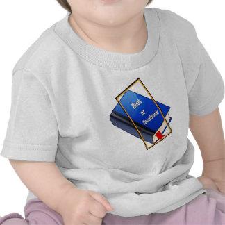 Book or facebook tee shirt