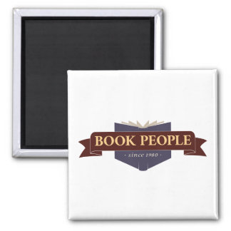 Book People Magnet