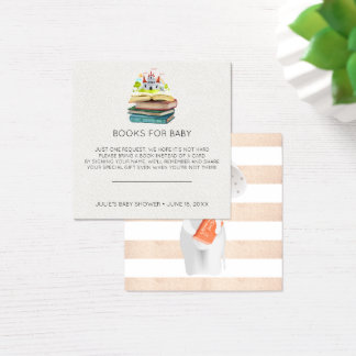 Book Request | Fairy Tales Baby Shower Insert