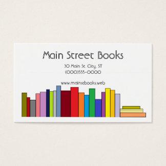 """""""Book Shelf"""" Business Cards"""