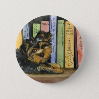Book Shelf Cutie 6 Cm Round Badge