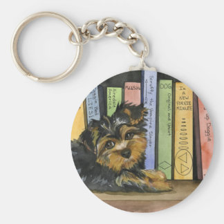 Book Shelf Cutie Key Ring