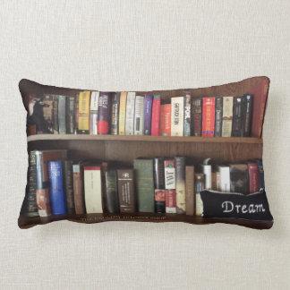 Book Shelf Dream Lumbar Cushion