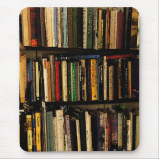 Book Shelves Mouse Pad