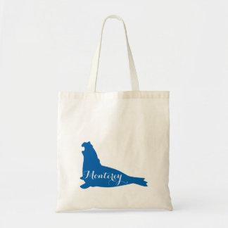 Book Tote Bag Bags Monterey California Sea Lion