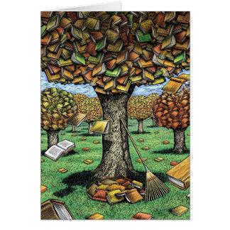 Book Tree Card