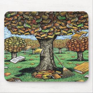 Book Tree Mousepad