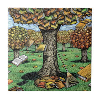 Book Tree Tile