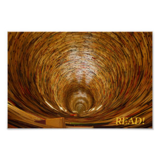 book tunnel poster