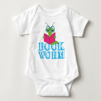 Book Worm Baby Bodysuit