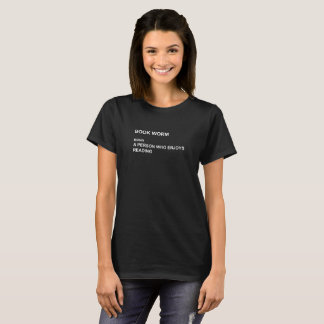 Book Worm Definition Humour Funny T-Shirt