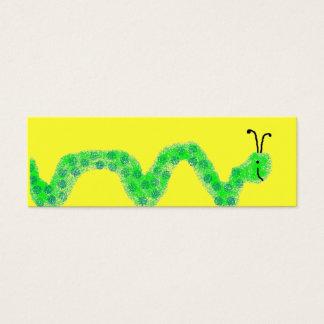 Book Worm Mini Bookmarks Mini Business Card