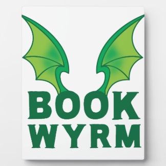 BOOK WYRM PHOTO PLAQUE